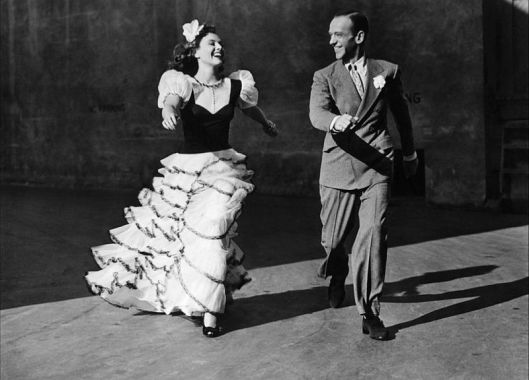 Paulette Goddard and Fred Astaire in Second Chorus